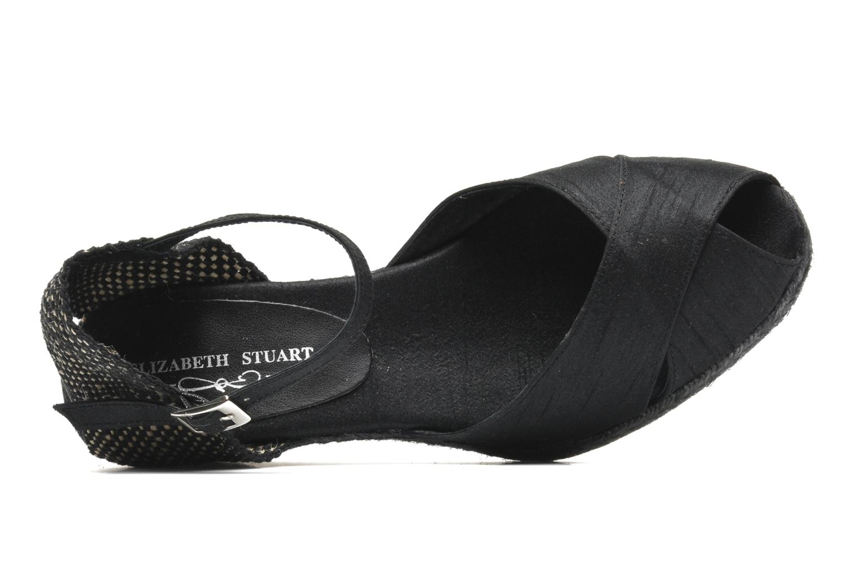 Sandales et nu-pieds Elizabeth Stuart Trento 604 Noir vue gauche