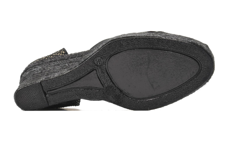 Sandales et nu-pieds Elizabeth Stuart Trento 604 Noir vue haut