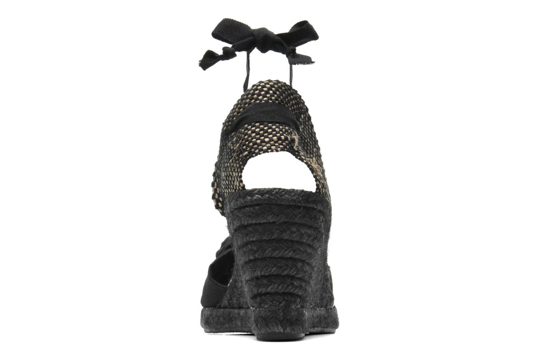 Sandales et nu-pieds Elizabeth Stuart Riam 605 Noir vue droite