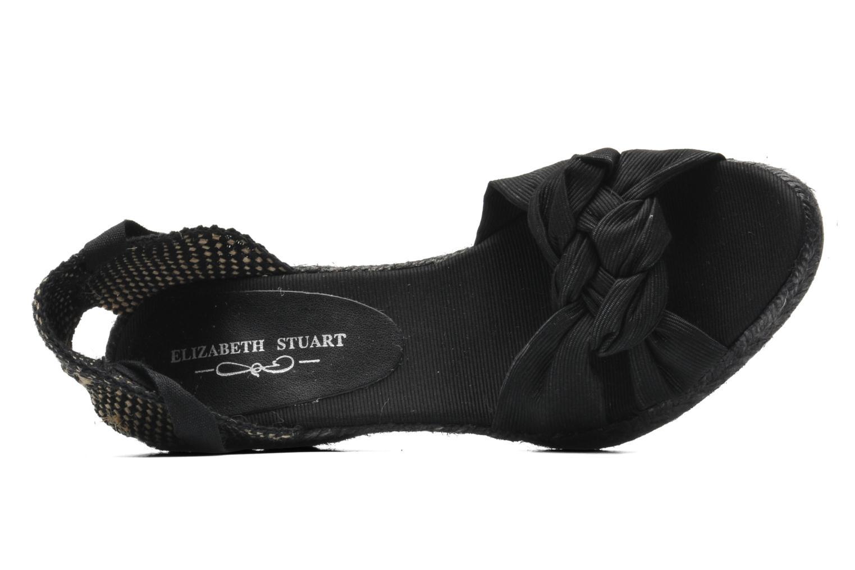 Sandales et nu-pieds Elizabeth Stuart Riam 605 Noir vue gauche