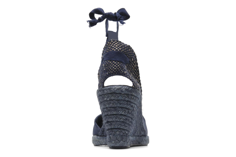 Sandales et nu-pieds Elizabeth Stuart Riam 605 Bleu vue droite