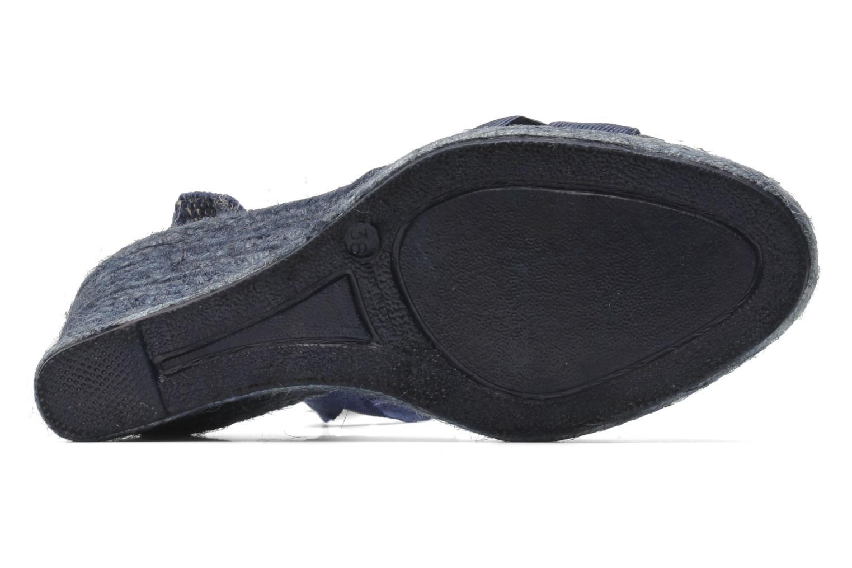 Sandales et nu-pieds Elizabeth Stuart Riam 605 Bleu vue haut