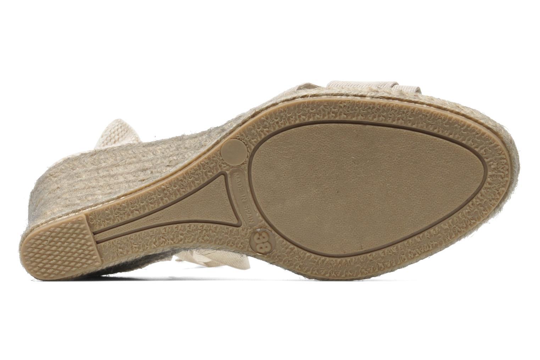 Sandales et nu-pieds Elizabeth Stuart Riam 605 Beige vue haut