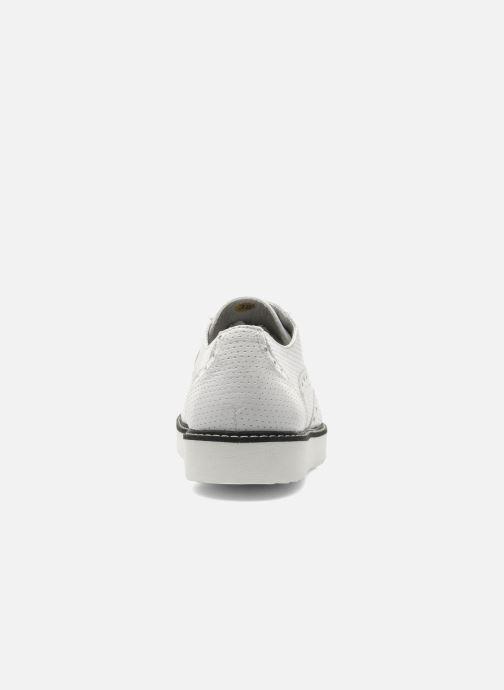 Chaussures à lacets Ippon Vintage Andy perfo Blanc vue droite