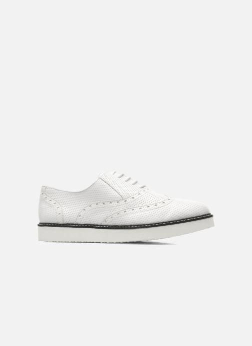 Chaussures à lacets Ippon Vintage Andy perfo Blanc vue derrière
