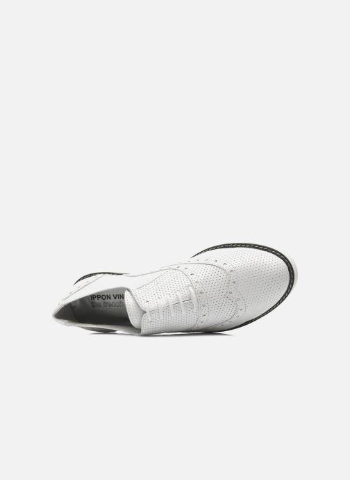 Chaussures à lacets Ippon Vintage Andy perfo Blanc vue gauche