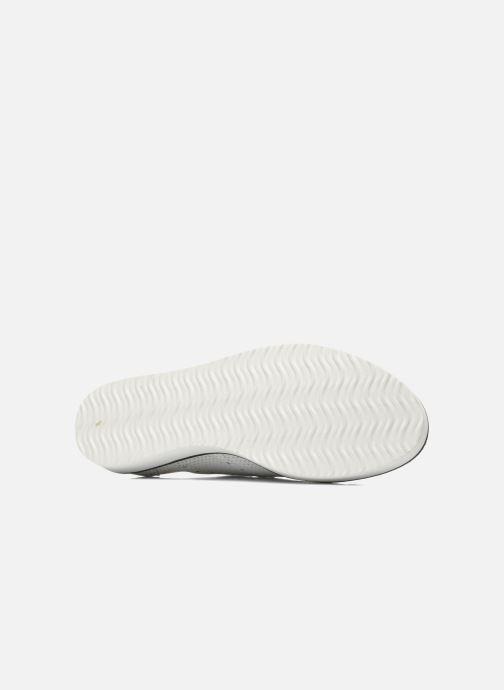 Chaussures à lacets Ippon Vintage Andy perfo Blanc vue haut