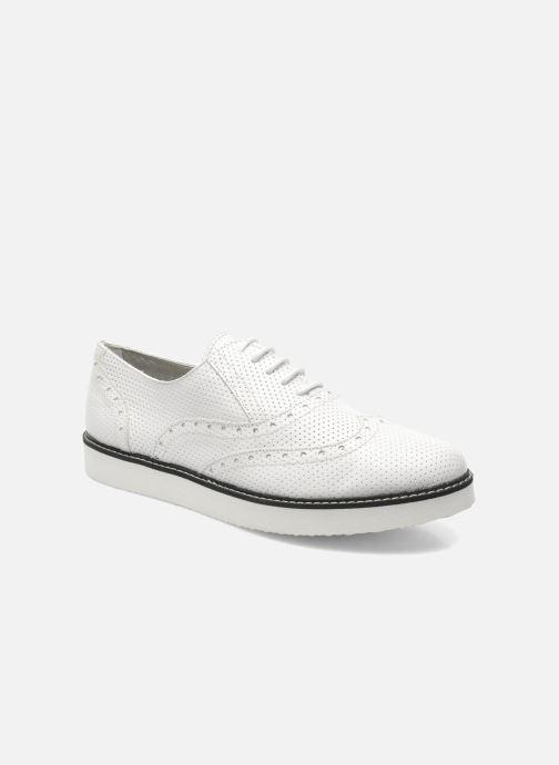 Chaussures à lacets Ippon Vintage Andy perfo Blanc vue détail/paire