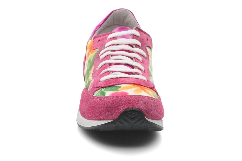 Baskets Ippon Vintage Run flow Rose vue portées chaussures