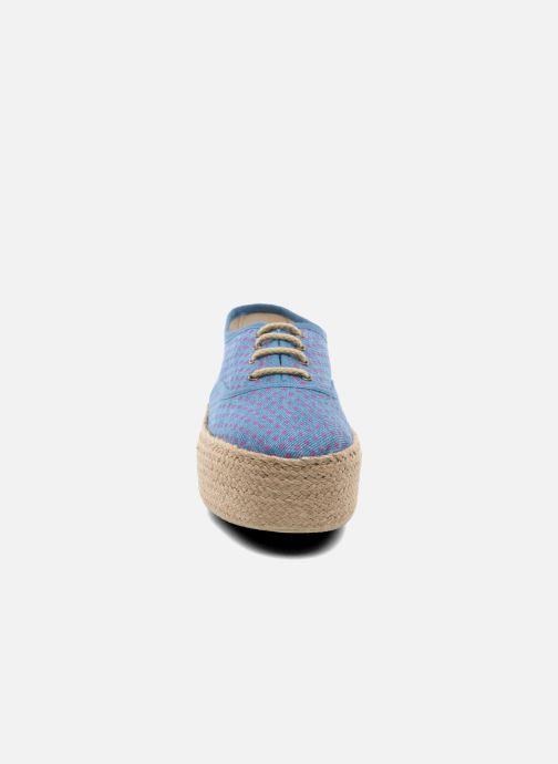 Espadrilles Ippon Vintage Nami Sun blau schuhe getragen