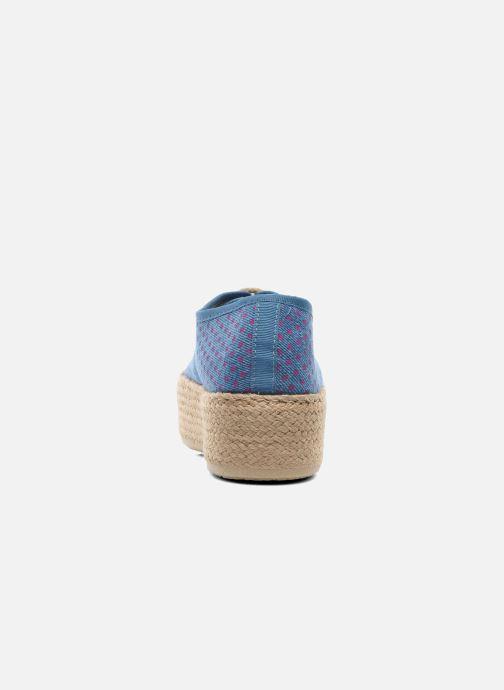 Alpargatas Ippon Vintage Nami Sun Azul vista lateral derecha
