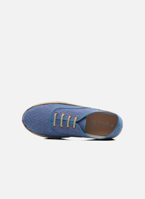 Espadrilles Ippon Vintage Nami Sun Bleu vue gauche