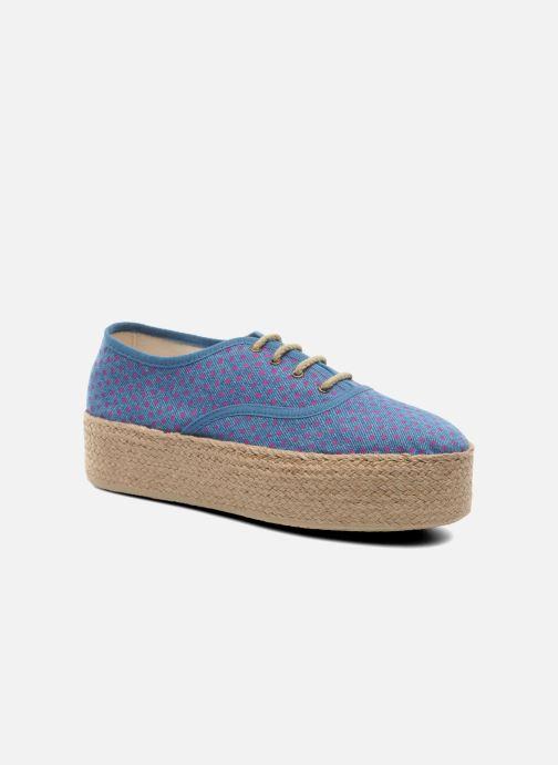 Espadrilles Ippon Vintage Nami Sun Bleu vue détail/paire