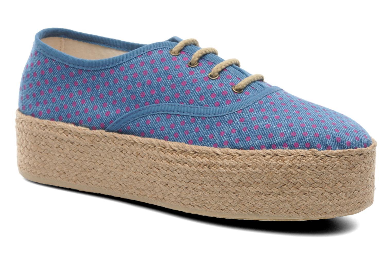 Espadrillos Ippon Vintage Nami Sun Blå detaljeret billede af skoene
