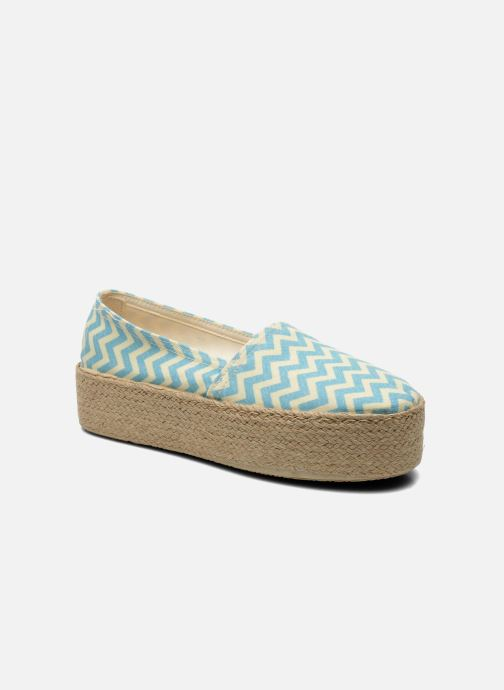 Espadrilles Ippon Vintage Nami beach Blue detailed view/ Pair view