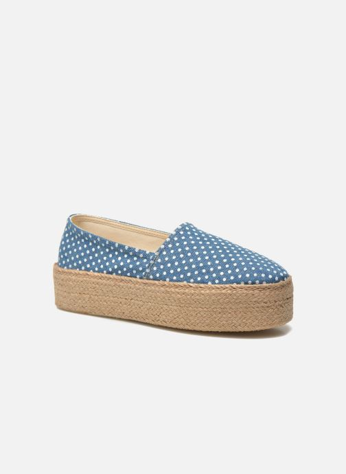 Espadrilles Ippon Vintage Nami beach Bleu vue détail/paire