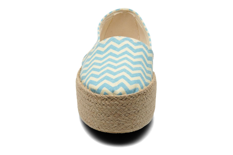 Espadrilles Ippon Vintage Nami beach Bleu vue portées chaussures