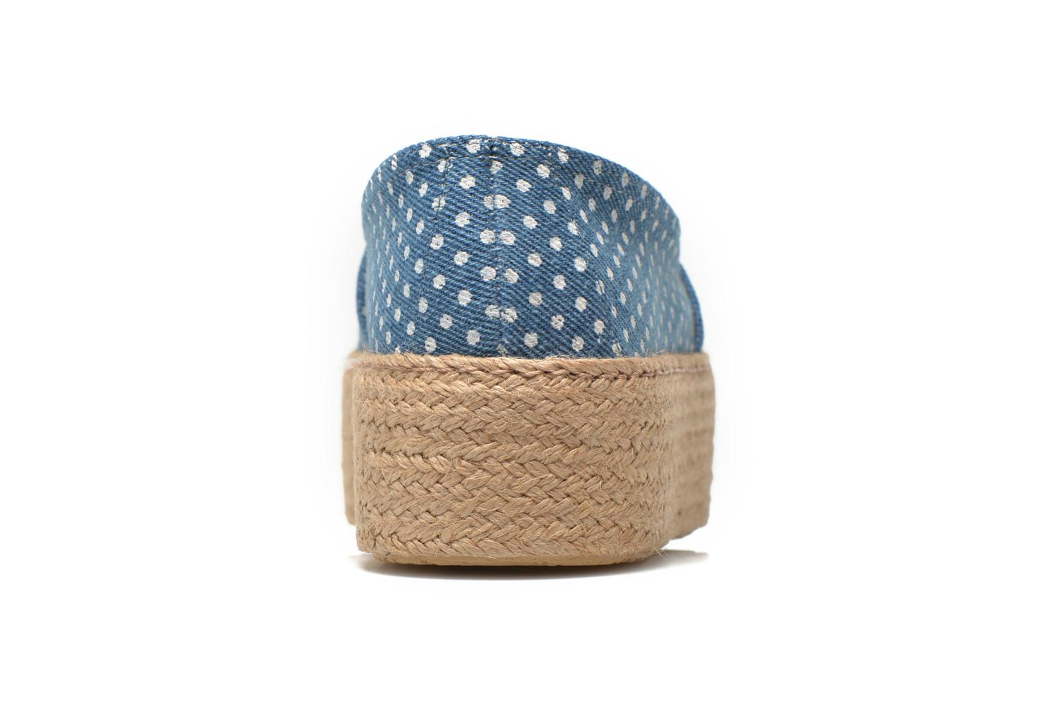 Espadrilles Ippon Vintage Nami beach Blue view from the right