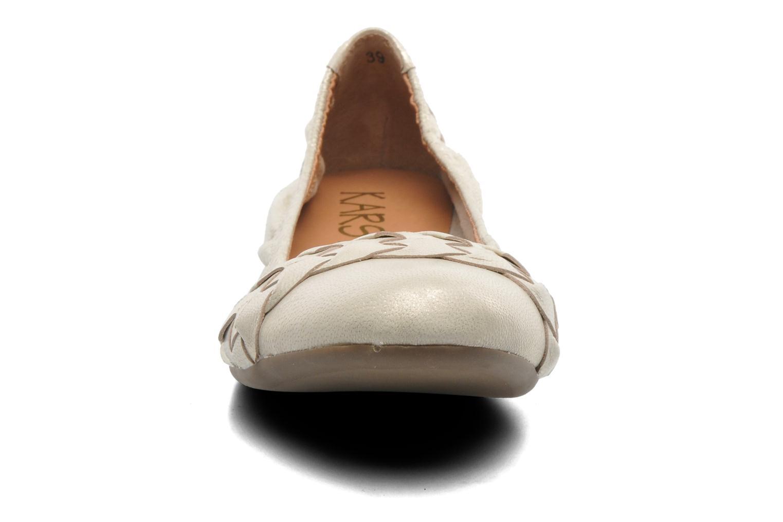 Ballerines Karston Kevane Or et bronze vue portées chaussures