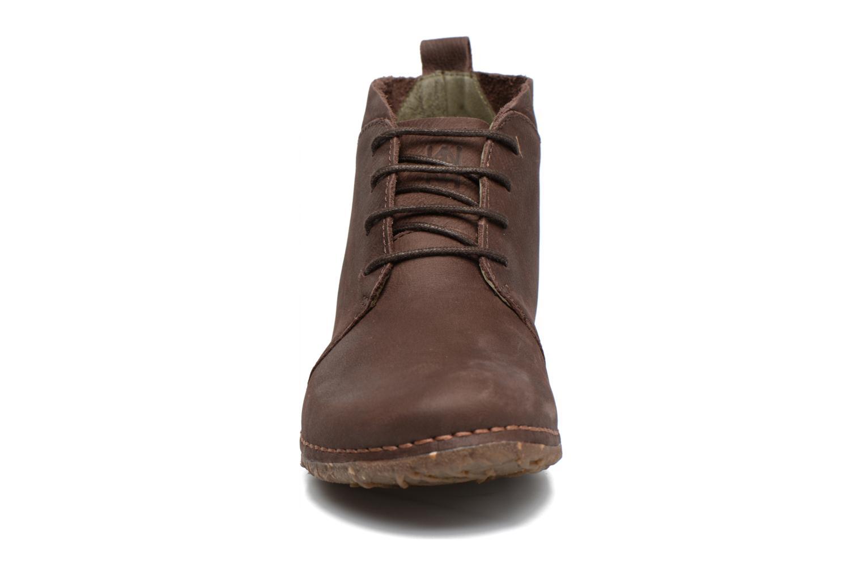Chaussures à lacets El Naturalista Ankor N974 Marron vue portées chaussures