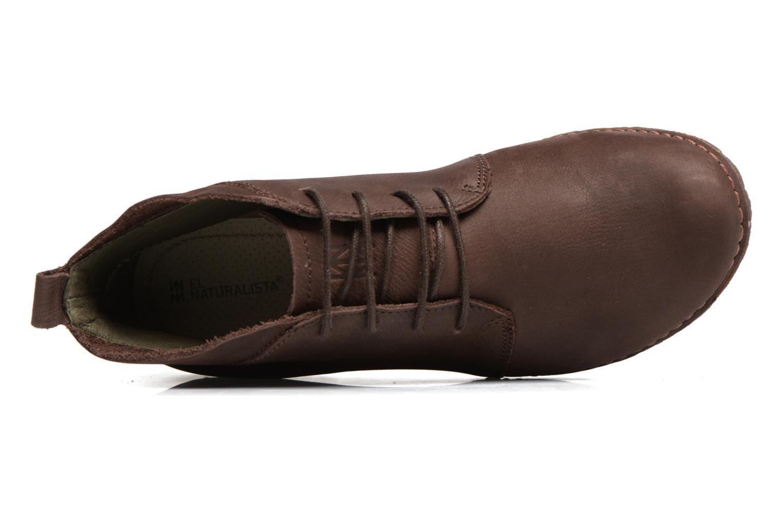 Chaussures à lacets El Naturalista Ankor N974 Marron vue gauche
