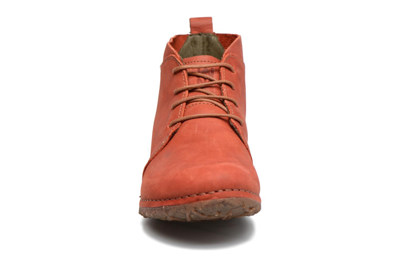 Chaussures à lacets El Naturalista Ankor N974 Rouge vue portées chaussures