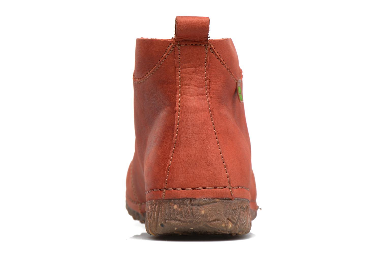 Chaussures à lacets El Naturalista Ankor N974 Rouge vue droite