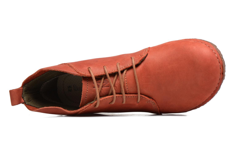 Chaussures à lacets El Naturalista Ankor N974 Rouge vue gauche