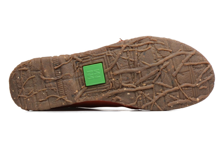 Chaussures à lacets El Naturalista Ankor N974 Rouge vue haut