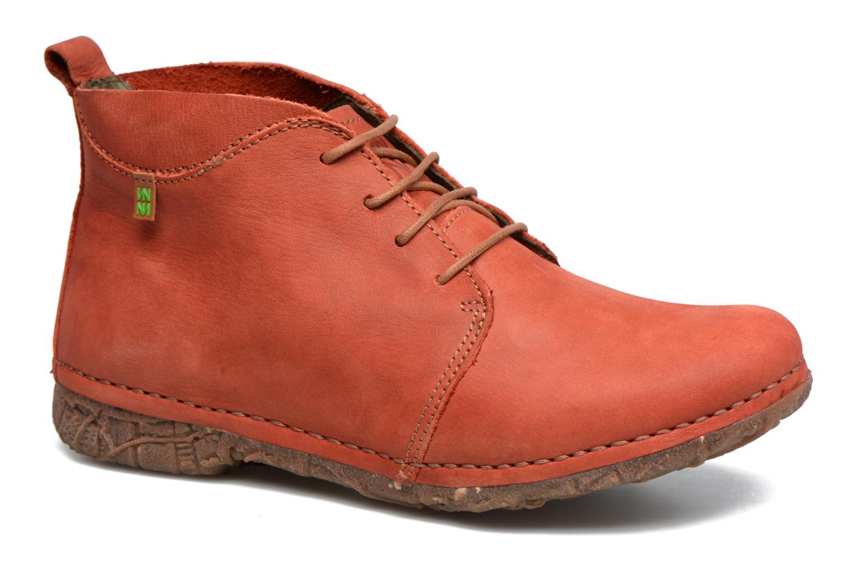 Chaussures à lacets El Naturalista Ankor N974 Rouge vue détail/paire