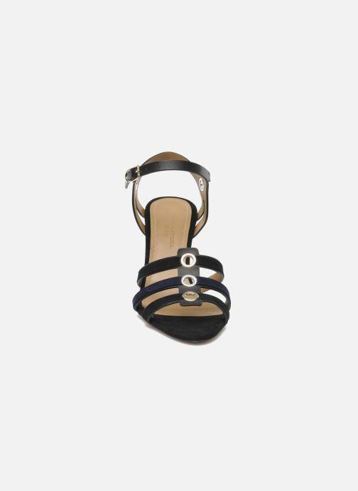 Sandales et nu-pieds Sonia Rykiel Fide Noir vue portées chaussures