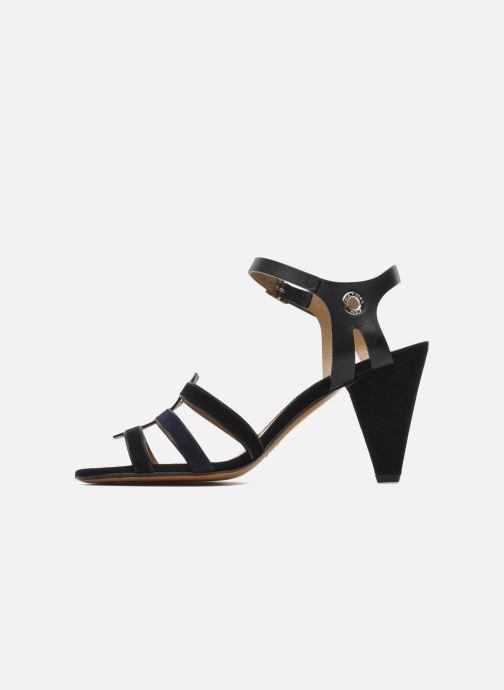 Sandales et nu-pieds Sonia Rykiel Fide Noir vue face
