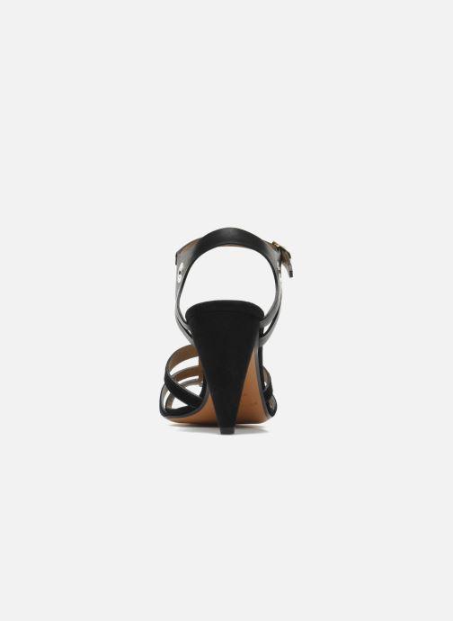 Sandales et nu-pieds Sonia Rykiel Fide Noir vue droite