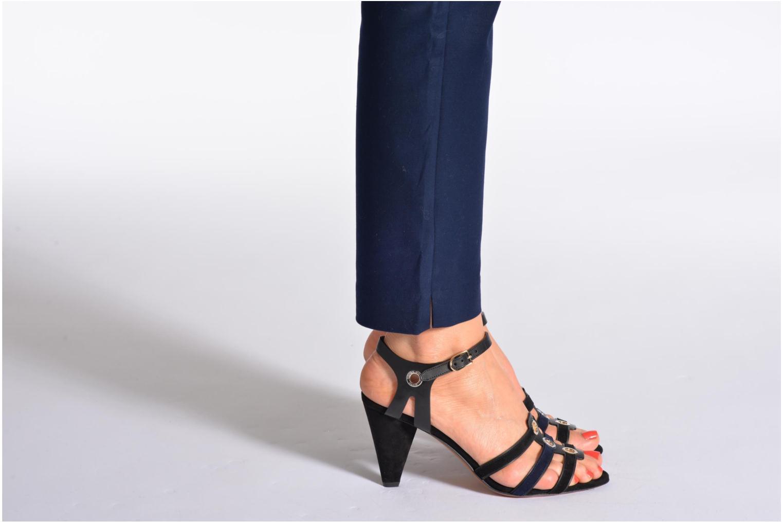 Sandales et nu-pieds Sonia Rykiel Fide Noir vue bas / vue portée sac