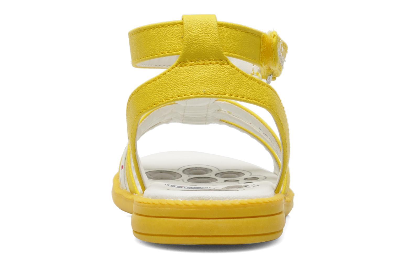 Sandales et nu-pieds Chicco Cristine Jaune vue droite
