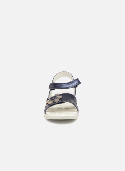 Sandales et nu-pieds Chicco Cecilia Bleu vue portées chaussures