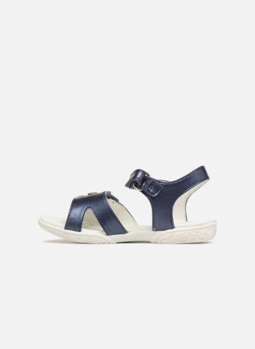 Sandales et nu-pieds Chicco Cecilia Bleu vue face
