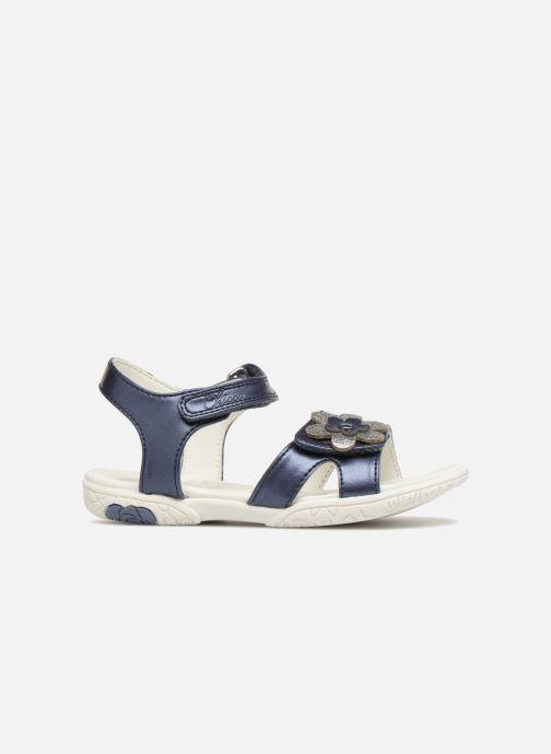 Sandales et nu-pieds Chicco Cecilia Bleu vue derrière