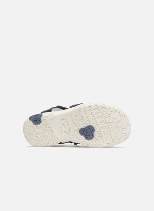Sandales et nu-pieds Chicco Cecilia Bleu vue haut