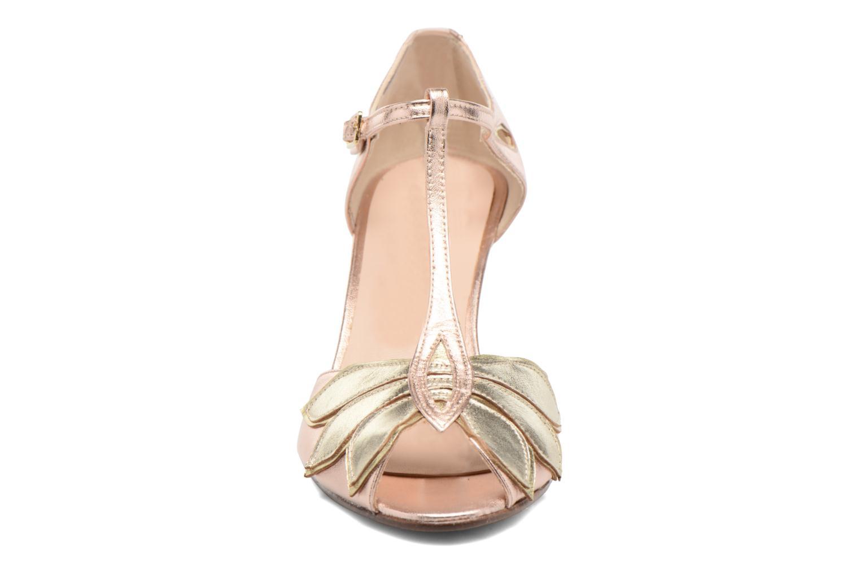 Escarpins Anna Volodia Mama Or et bronze vue portées chaussures