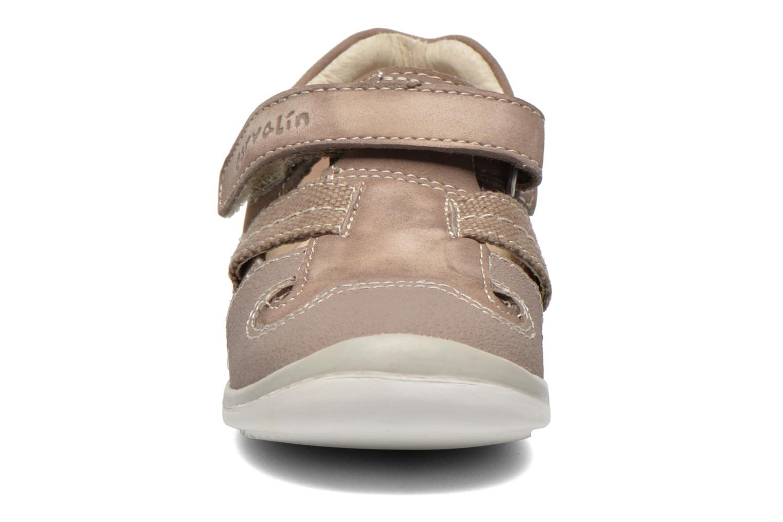 Velcro shoes Garvalin César Grey model view