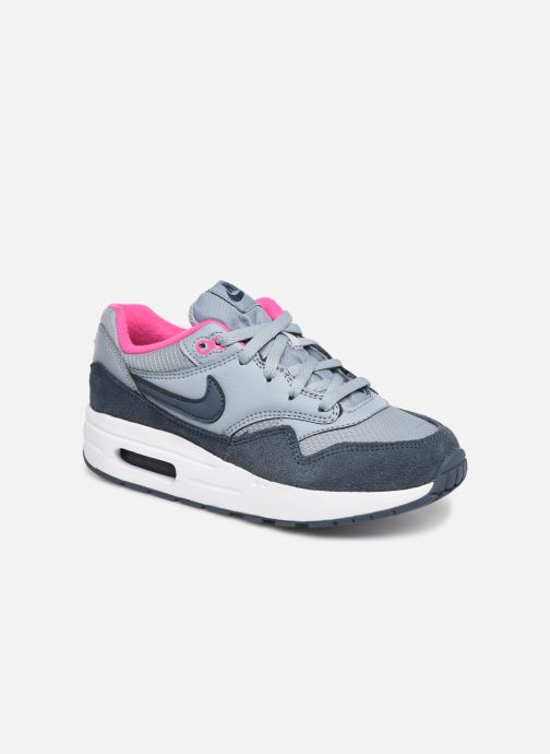 new arrival e68a7 a0806 Baskets Nike Nike Air Max 1 (Ps) Gris vue détail paire