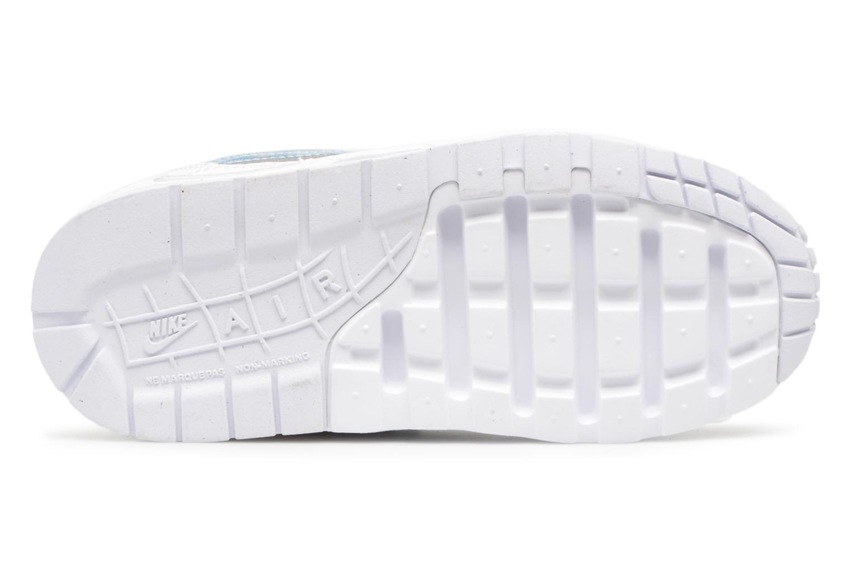 Baskets Nike Nike Air Max 1 (Ps) Blanc vue haut