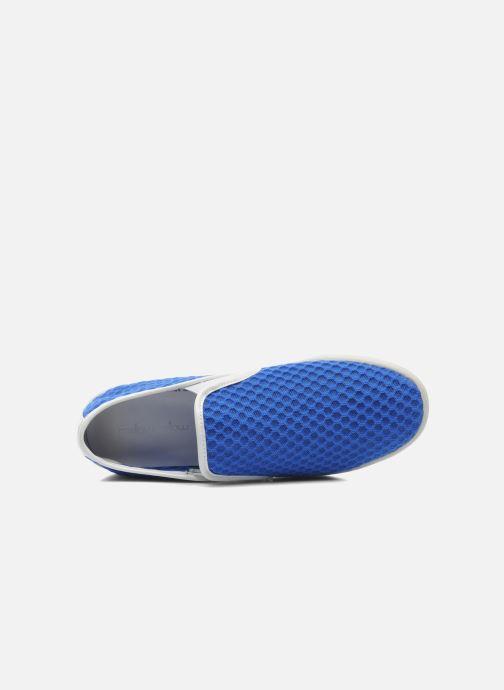 Baskets Mellow Yellow Sajoging Bleu vue gauche