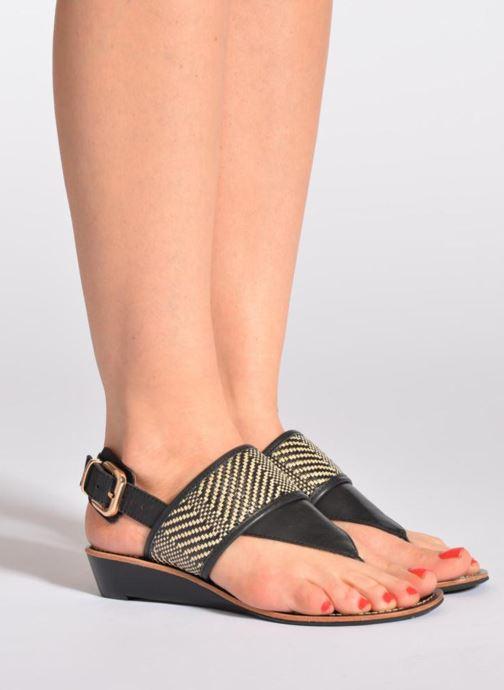 Sandali e scarpe aperte Mellow Yellow Saukute Nero immagine dal basso