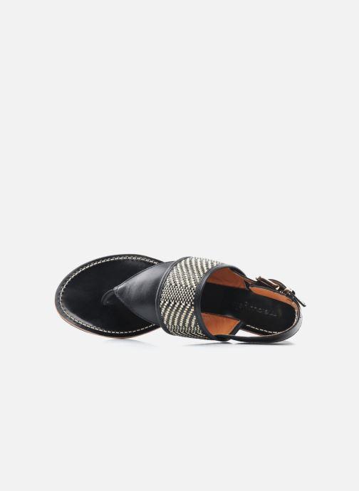 Sandali e scarpe aperte Mellow Yellow Saukute Nero immagine sinistra