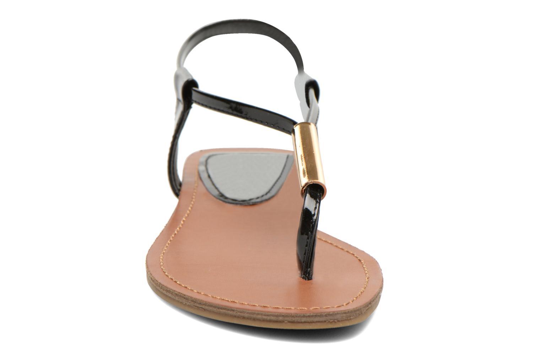 Sandalen Steve Madden Hamil schwarz schuhe getragen