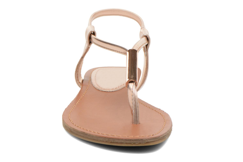Sandales et nu-pieds Steve Madden Hamil Or et bronze vue portées chaussures