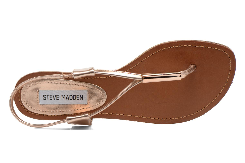Sandales et nu-pieds Steve Madden Hamil Or et bronze vue gauche
