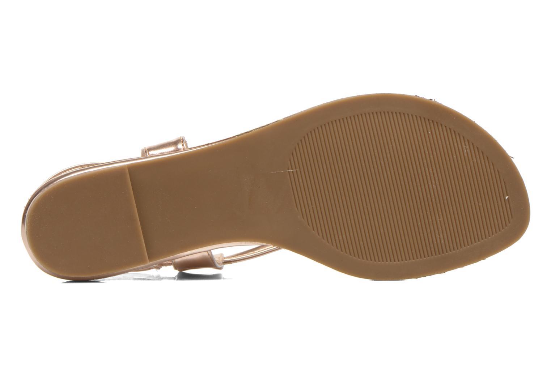 Sandales et nu-pieds Steve Madden Hamil Or et bronze vue haut